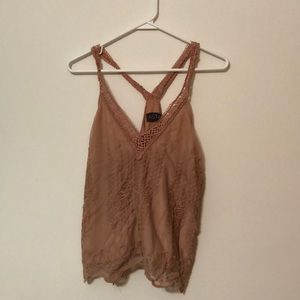 Embroider Tank Top